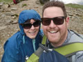Karen Ellis climbed Mount Snowdon